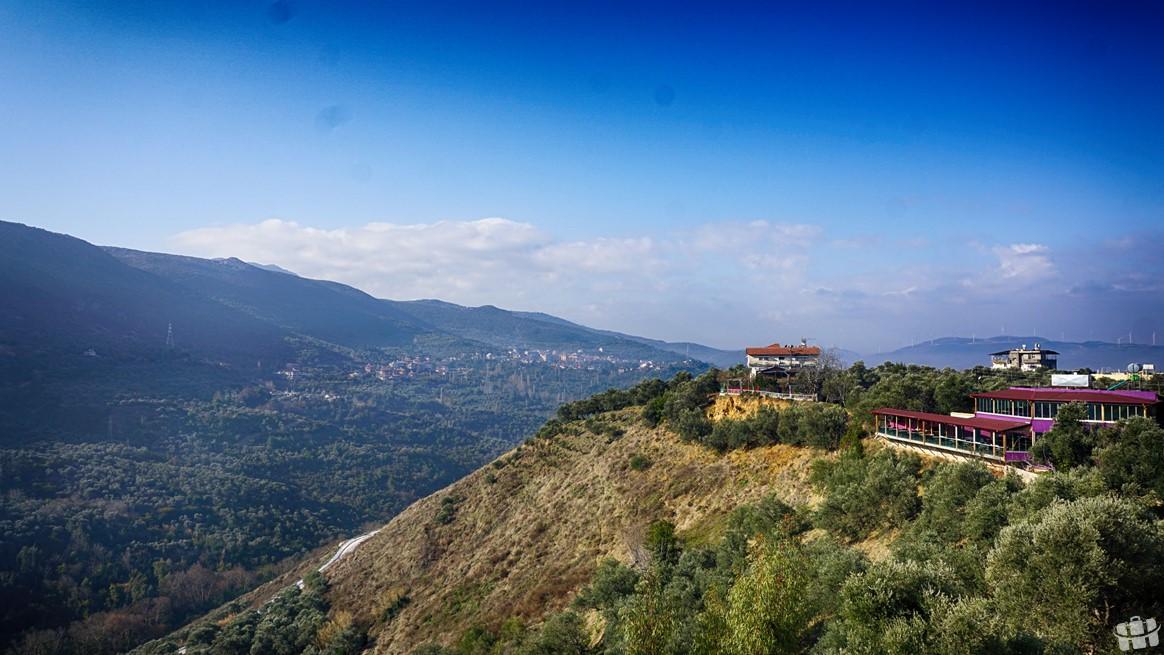 Harbiye'den Amanos Dağları manzarası.