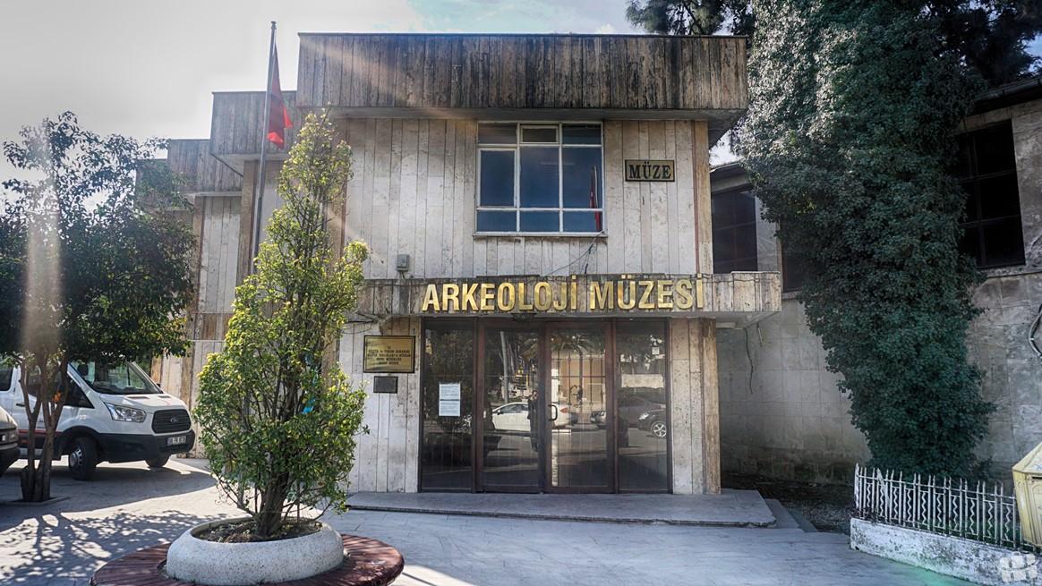 Hatay'da bulunan arkeoloji müzesinin eski binası.