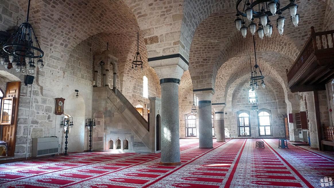 Hatay'da bulunan Ulu Cami içerisi.