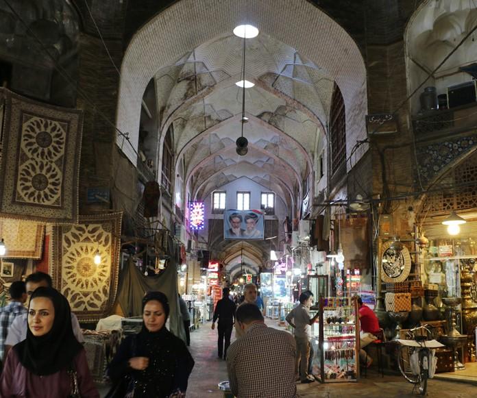 Bazaar-e Bozurg, İsfahan