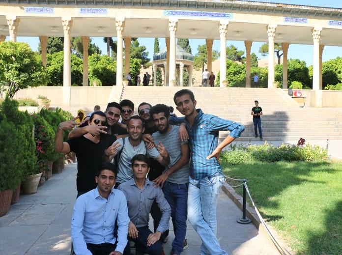 Hafız'ın Kabri, Şiraz