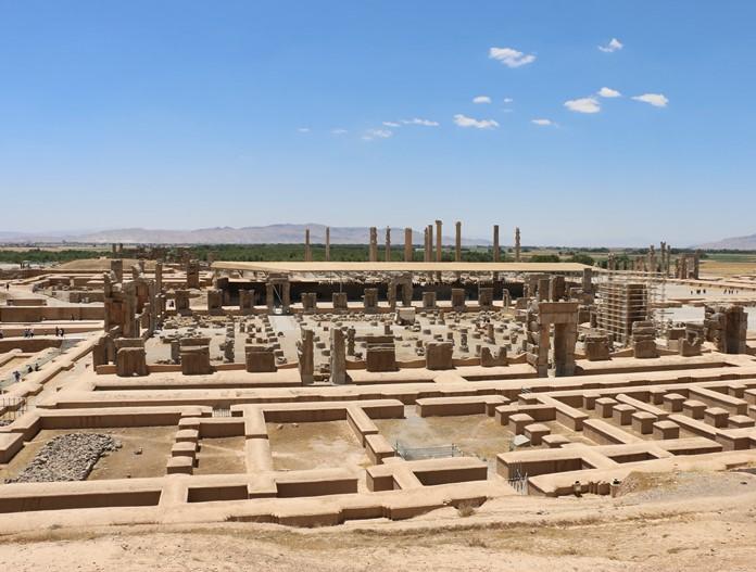 Persepolis, Şiraz