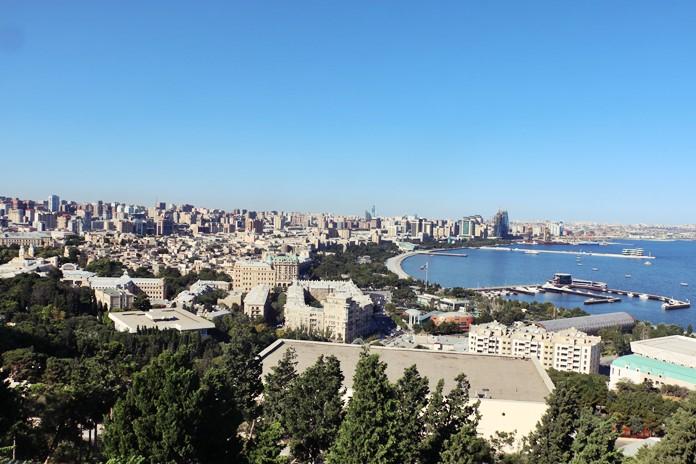 Bakü Şehir Manzarası
