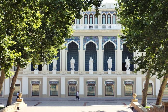 Nizami Gencevi Azerbaycan Edebiyat Müzesi