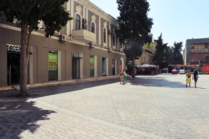 Targovi Caddesi, Bakü