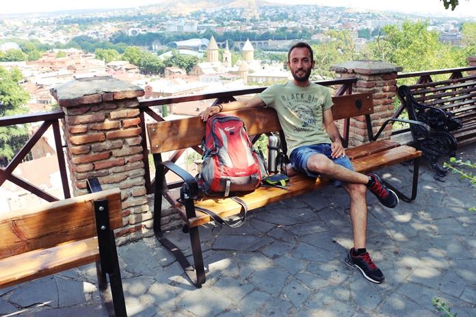 Tiflis Şehir Manzarası