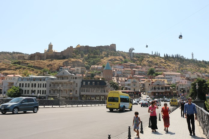 Narikala Hisarı, Tiflis