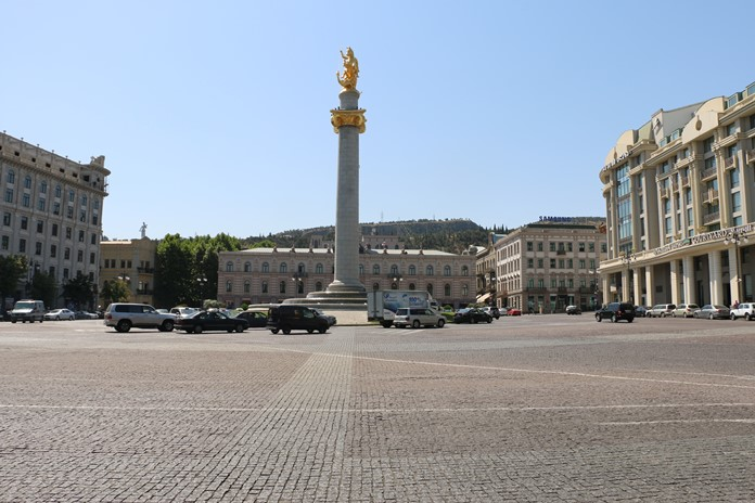 Özgürlük (Tavisupleba) Meydanı, Tiflis