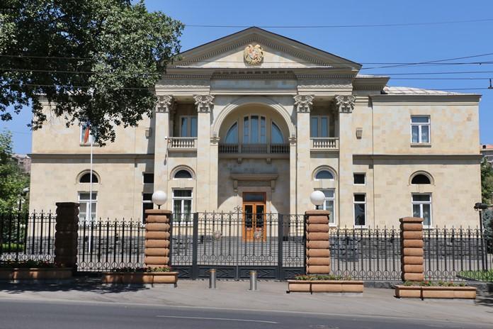 Ermenistan Cumhurbaşkanlığı Sarayı, Erivan