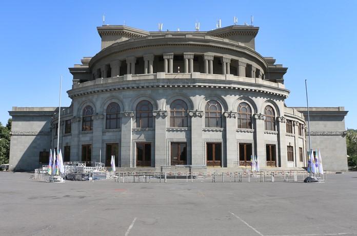 Akademik Opera ve Bale Tiyatrosu, Erivan