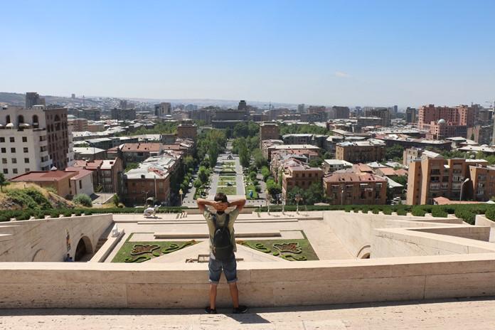 Erivan Şehir Manzarası