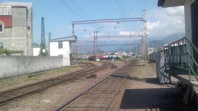 Batum'dan Tiflis'e tren yolculuğu hakkında bilgi.
