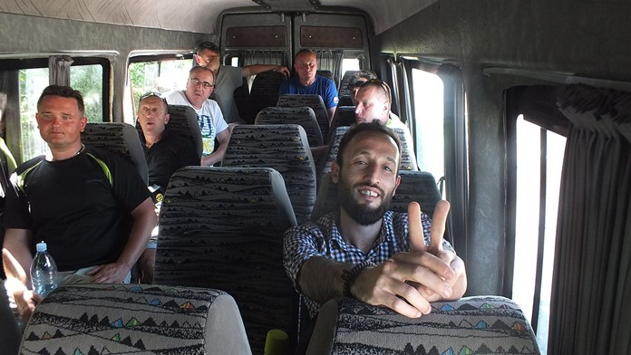 Batum-Tiflis arası yolculuk hakkında bilgi.