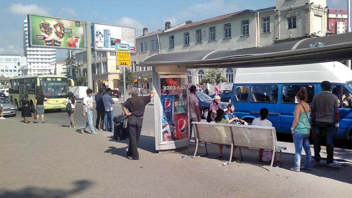 Batum gezilerinizde şehiriçi toplu taşıma araçlarını ucuza kullanabilirsiniz.