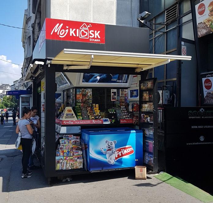 Kiosk (Büfe), Belgrad