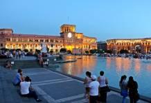 Erivan Ermenistan'ın başkentidir ve bir milyonun üzerindeki nüfusu ile kalabalık sayılabilecek bir şehridir.