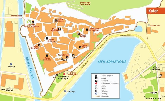 Kotor Haritası