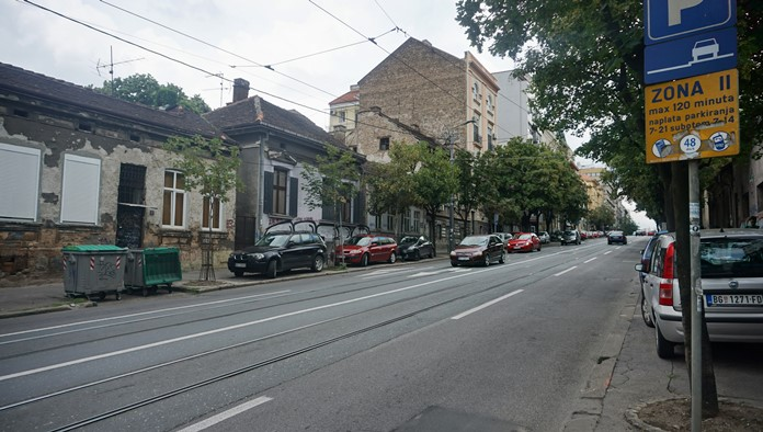 Krunska Caddesi, Belgrad