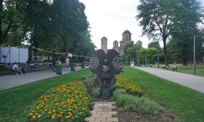 Taş Meydan Parkı, Belgrad