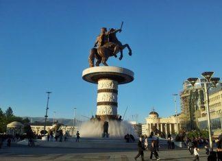Üsküp, Makedonya'nın başkenti ve en büyük şehridir.