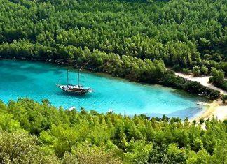 Doğal güzelliğin yanı sıra plaj ve tarihsel zenginliklerinde bulunduğu koy üzerinde aradığınız pek çok şeyi kolayca bulabilirsiniz.