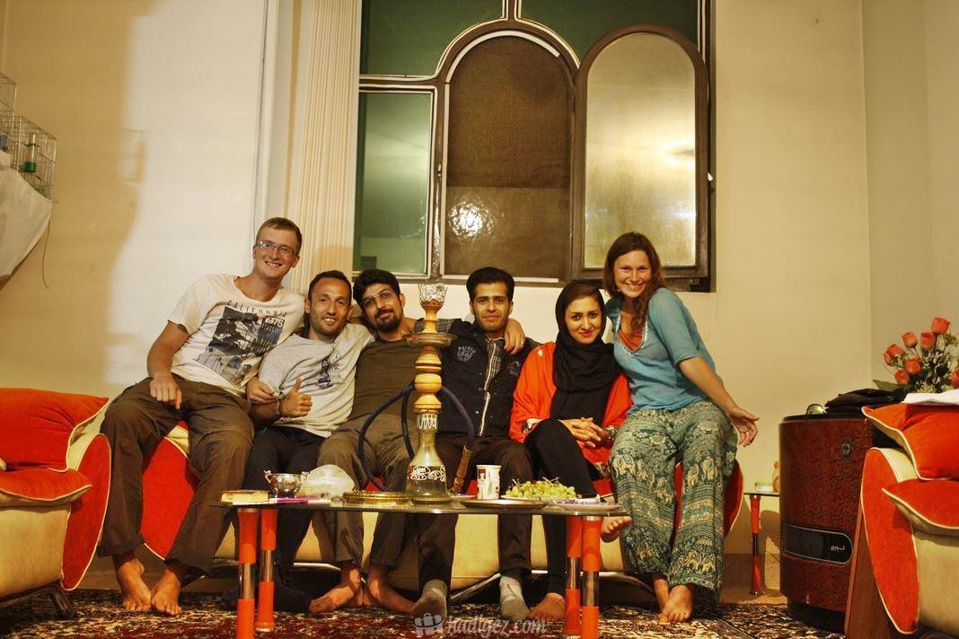 İran Couchsurfing Evi