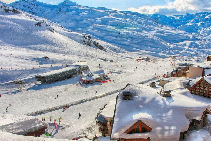 Val-Thorens (Üç Vadiler) Kayak Merkezi, Fransa