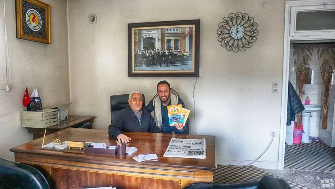 Hatay gazeteciler cemiyetinde Zafer Sarı'nın misafiri oldum.