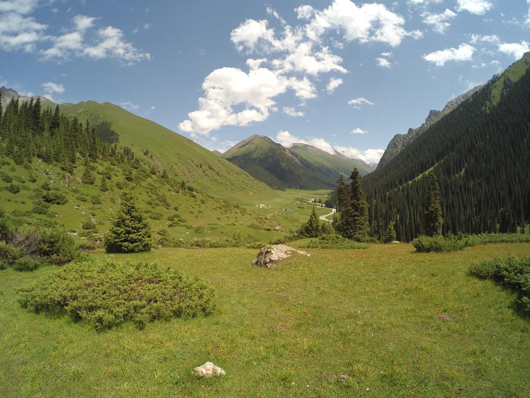 Altyn Arashan Vadisi, Kırgızistan