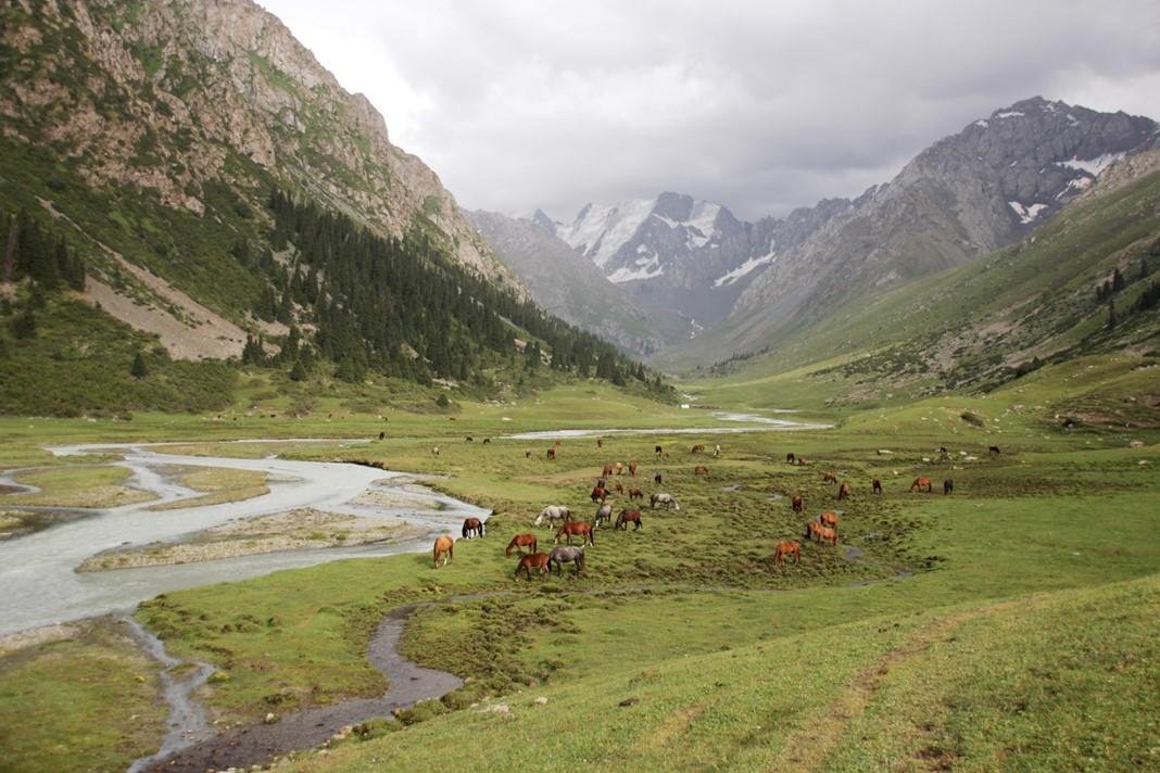 Yeti Oğuz, Kırgızistan
