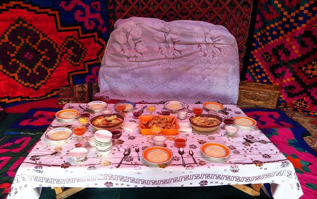 Yurt Çadırı, Kırgızistan
