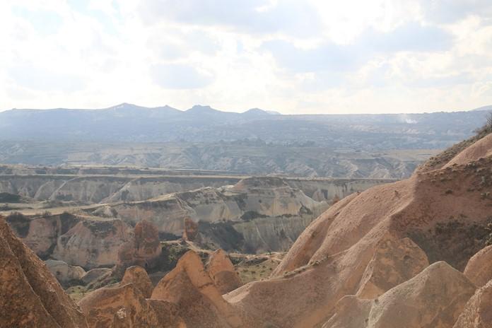 Kızıl ve Gül Vadisi, Kapadokya