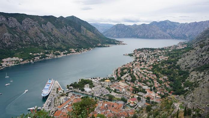 Boka Körfezi Manzarası, Kotor