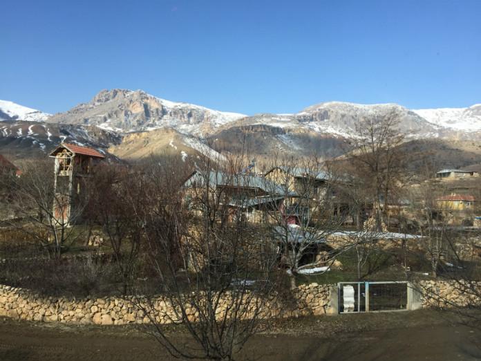 Ankara-Kars Tren Manzaraları