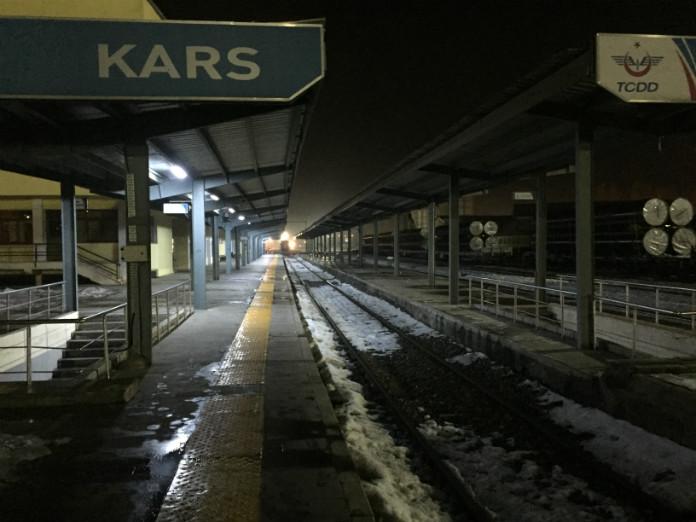 Doğu Ekspresi son durağı: Kars Tren Garı