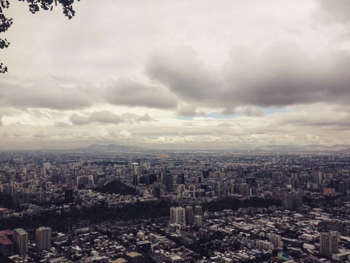 Şili'nin başkenti Santiago hakkında bilgi.