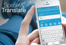 Speak Translate Dil Uygulaması