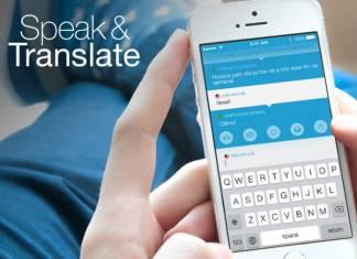 Speak Translate Dil Uygulaması