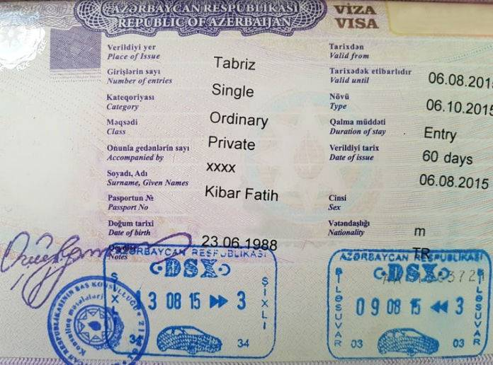 Azerbaycan vizesi hakkında bilgiler. Azerbaycan vizesi nasıl alınır?