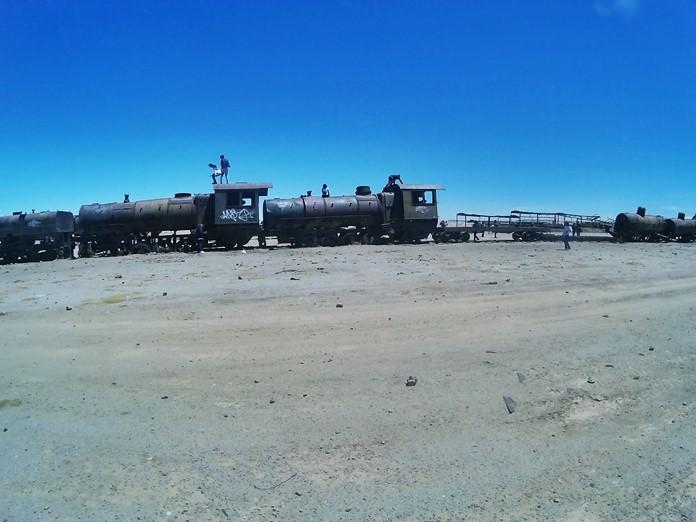 Bolivya tren mezarlığı hakkında bilgi.