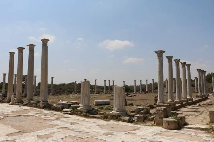 Salamis Antik Kenti, Kıbrıs