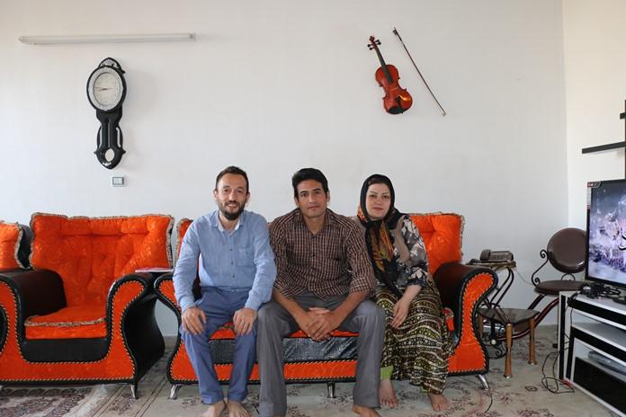 Heydar Beykızade ve Eşi Susan Hanım, Meraga