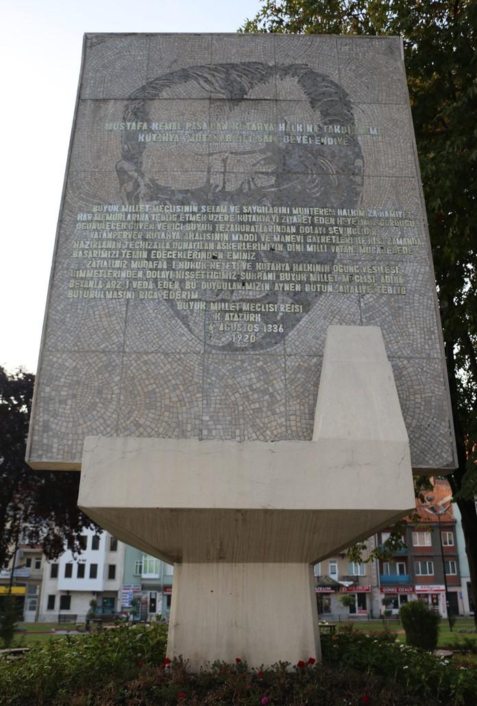Mustafa Kemal Paşa Takdirnamesi, Kütahya