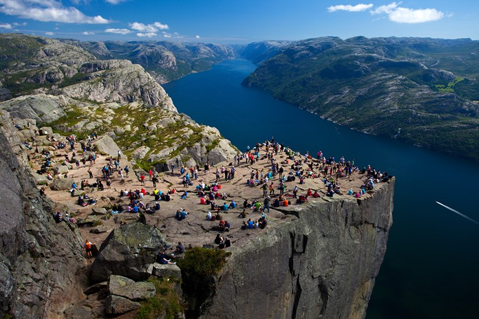 Avrupa Rüyası: Kuzey Avrupa Turu Norveç Pulpitrock