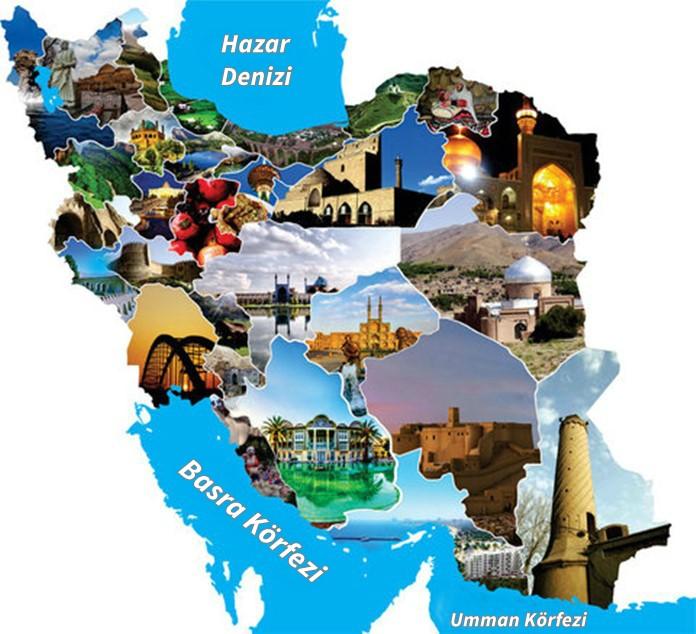 İran Turistik Harita