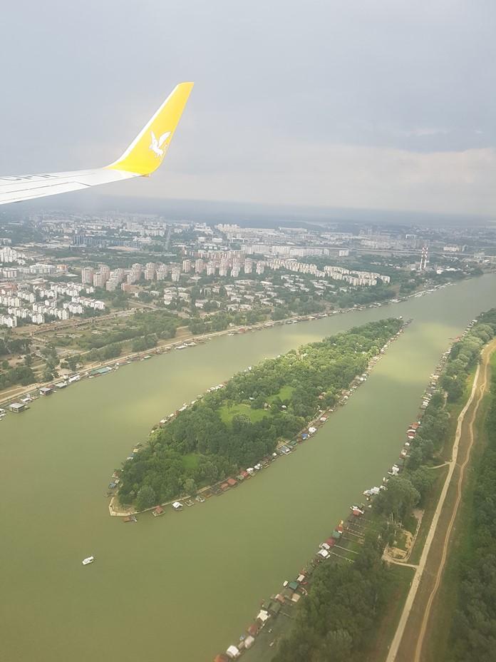 Havadan Belgrad Manzarası