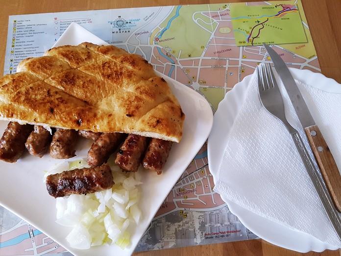 Cevapcici Kebap Yemeği, Belgrad