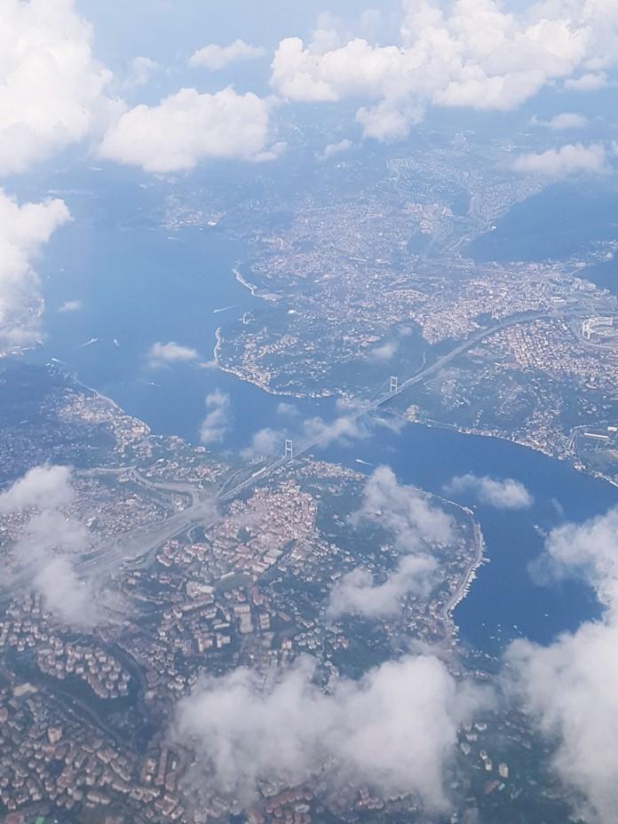 Havadan İstanbul Manzarası