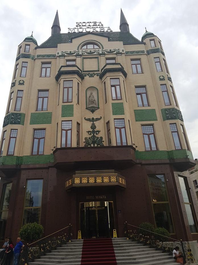 Moskva Otel, Belgrad