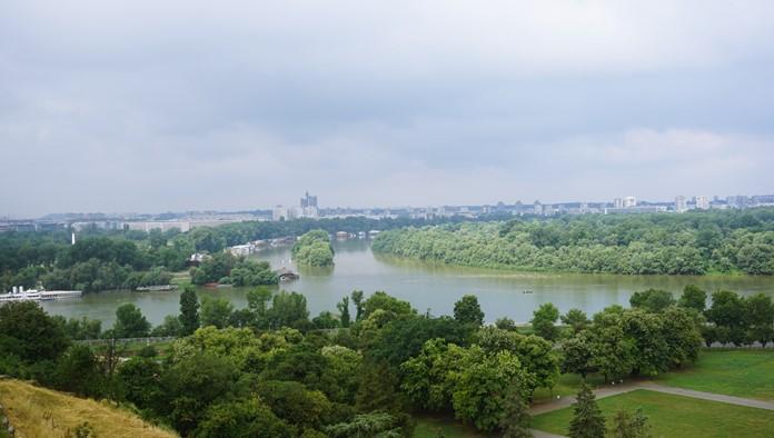 Tuna ve Sava Nehirleri, Belgrad
